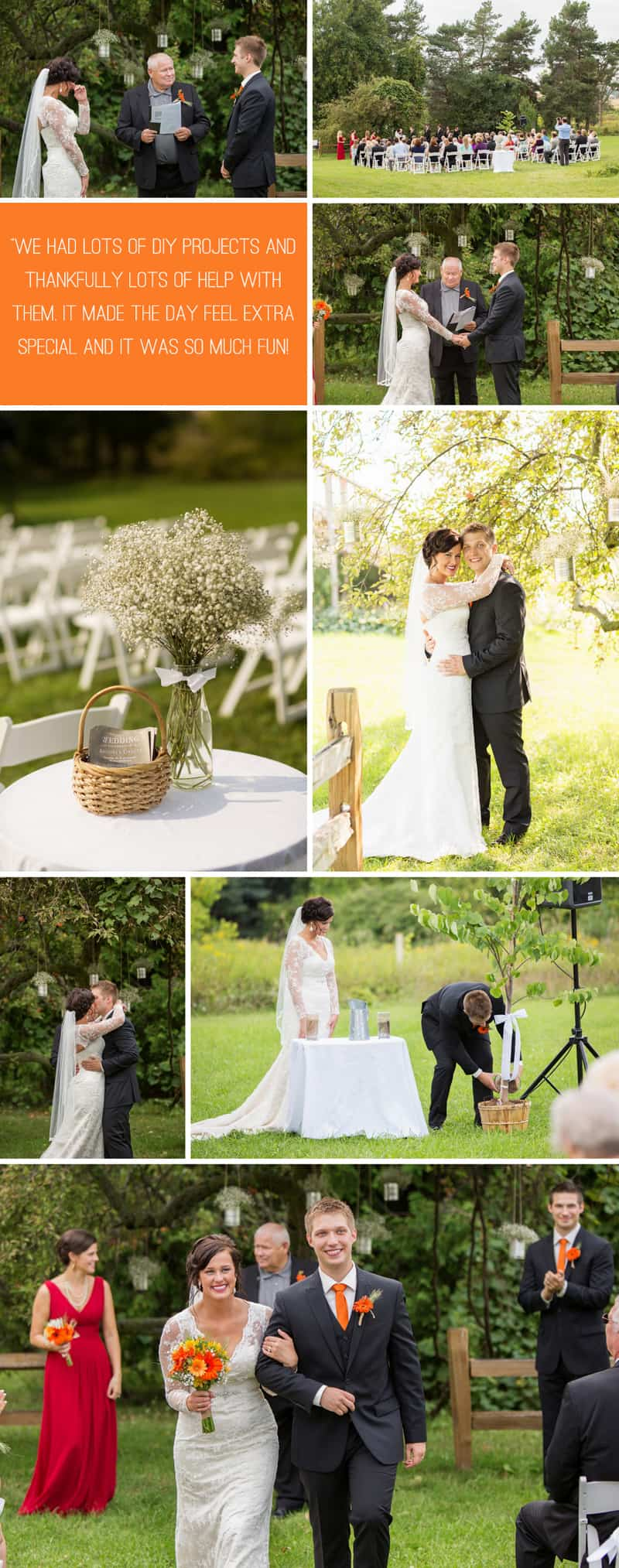 A Romantic Fall Wedding in a Rustic Barn 3