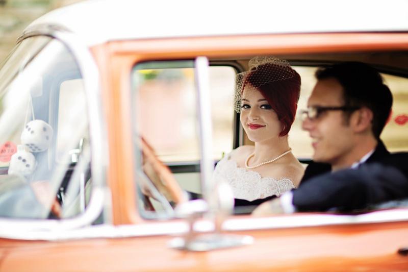 A Rockabilly 1950s themed wedding 5