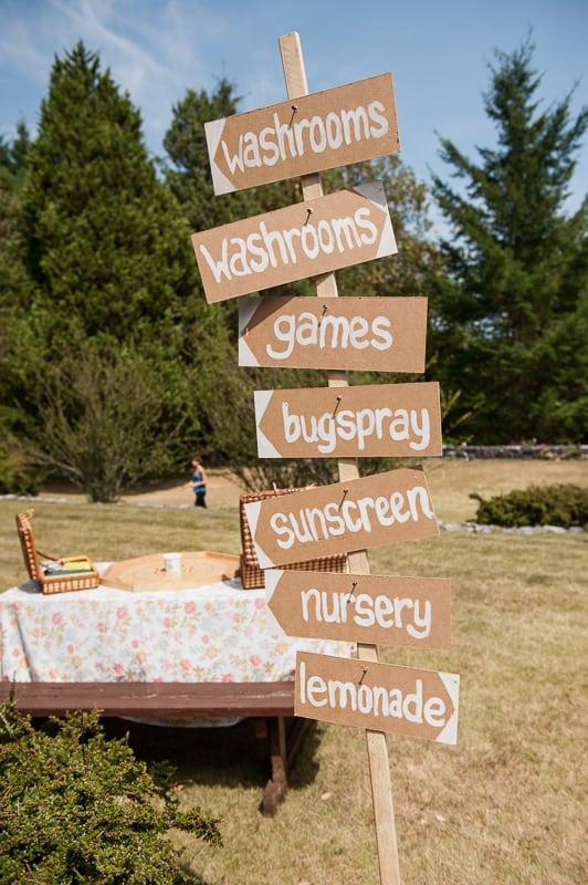DIY garden rustic wedding-14