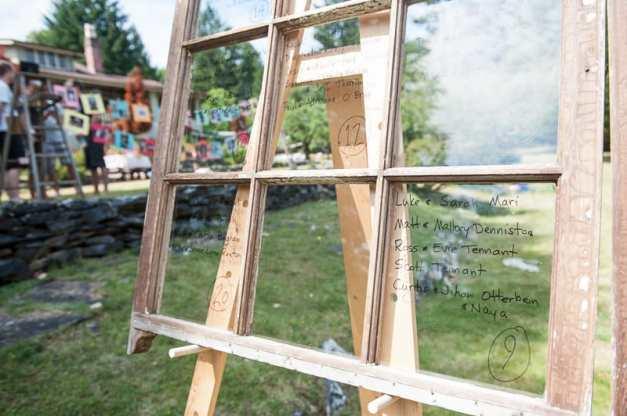 DIY garden rustic wedding-16