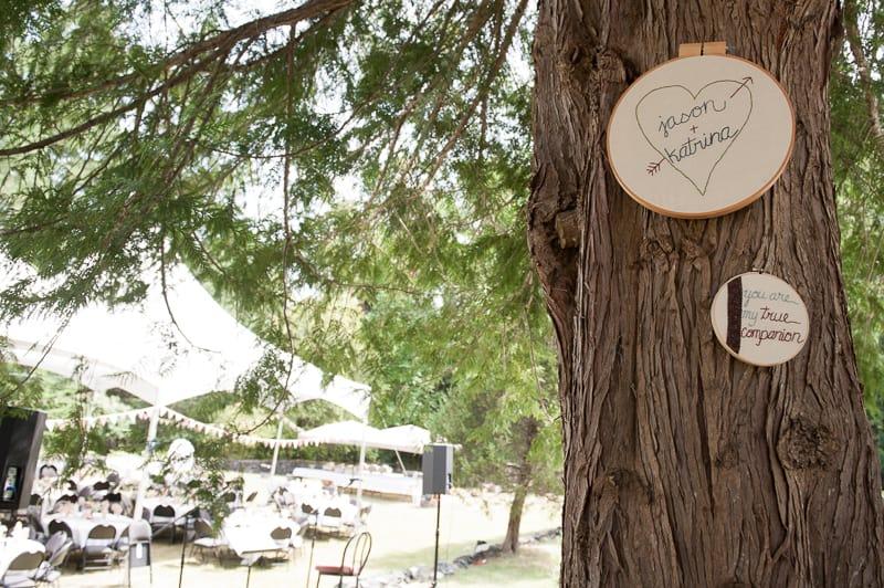 DIY garden rustic wedding-8