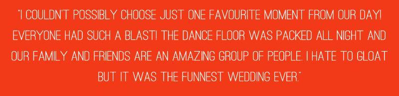 A Rockabilly 1950s Wedding Quote