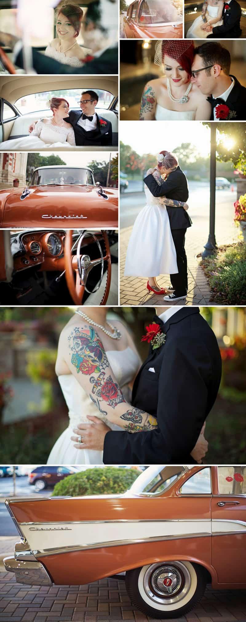 A Retro Rockabilly 1950's themed wedding 4