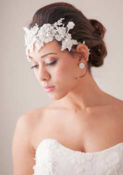 Bridal Hair 100 layer cake