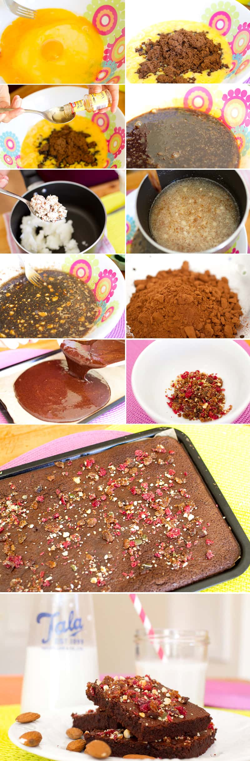 How to Almond Pulp Brownies
