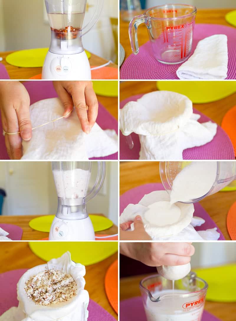 To Make Almond Milk