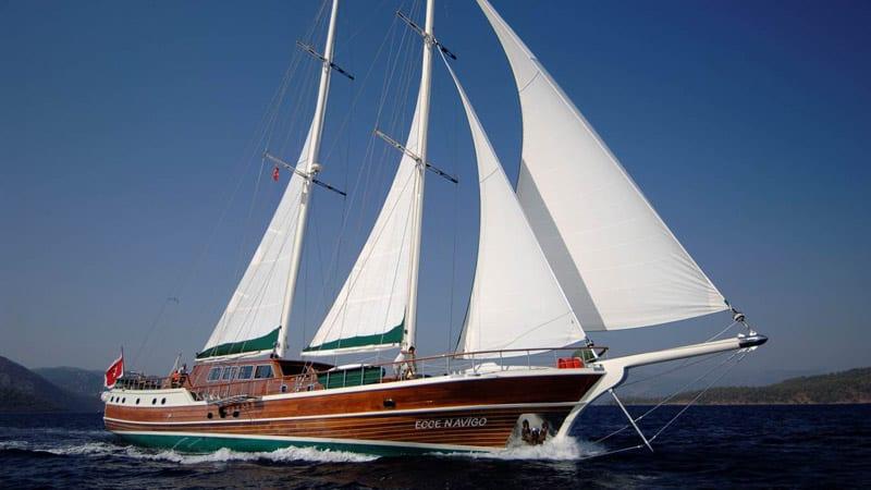 Ecce Navigo  or luxury Schooner, Turkey - Unique Honeymoon ideas