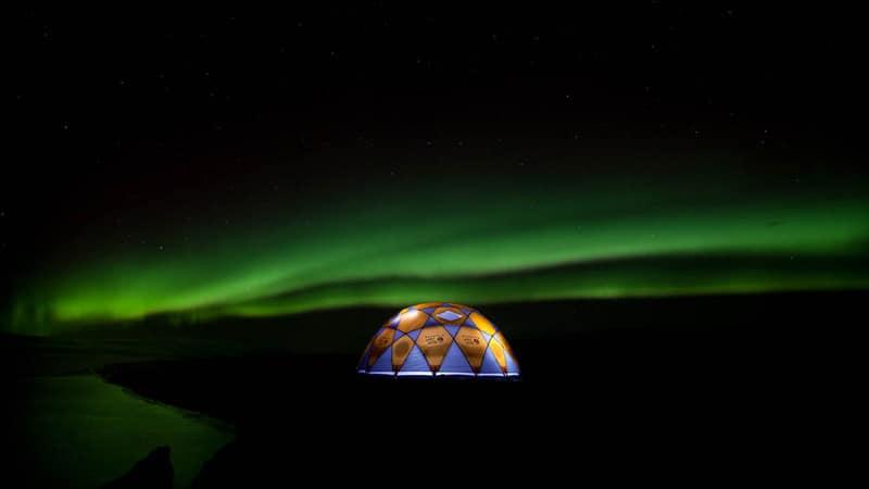 The Luxury Camp in Iceland - Unique Honeymoon ideas