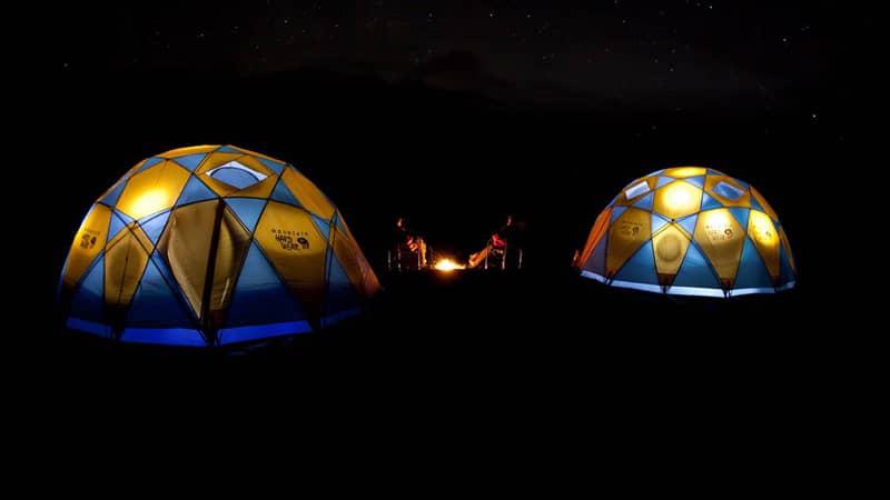 Luxury Camp Iceland - Unique Honeymoon ideas