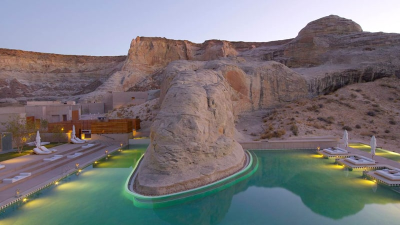 Amangiri Canyon Point, Utah - Unique Honeymoon Ideas