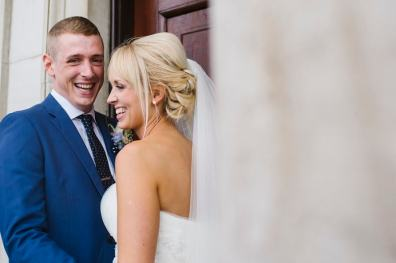 A elegant and fun wedding with a hint of pink