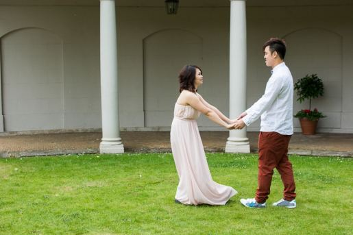 Cute Quirky Engagement Shoot Valentines Park-35