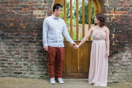 Cute Quirky Engagement Shoot Valentines Park-5