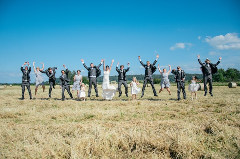 A Festival Country Wedding in Somerset 81