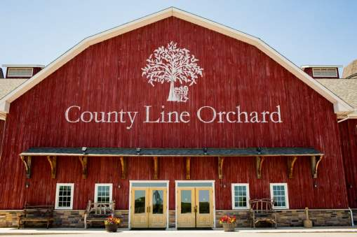 A Rustic Country Romantic Apple Orchard Barn Wedding Indiana 1