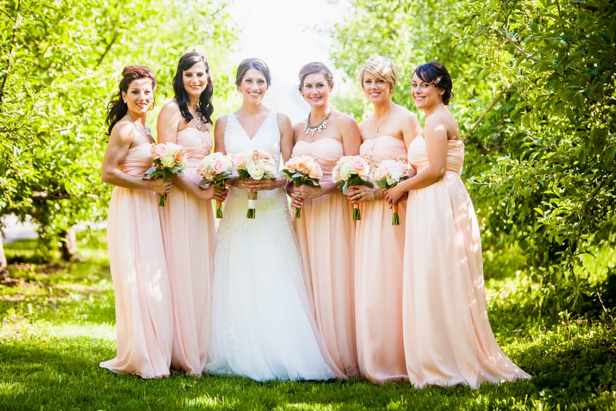 A Rustic Country Romantic Apple Orchard Barn Wedding Indiana 16