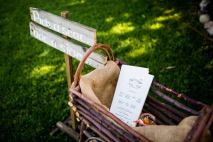 A Rustic Country Romantic Apple Orchard Barn Wedding Indiana 25