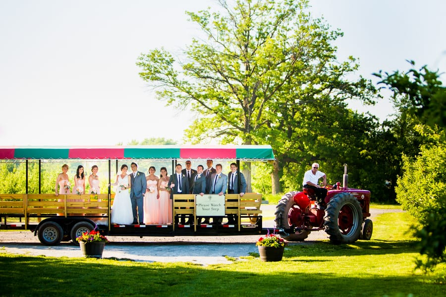 A Rustic Country Romantic Apple Orchard Barn Wedding Indiana 38
