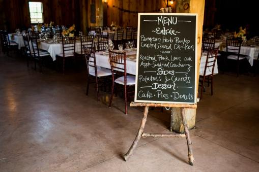 A Rustic Country Romantic Apple Orchard Barn Wedding Indiana 48