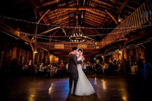 A Rustic Country Romantic Apple Orchard Barn Wedding Indiana 67