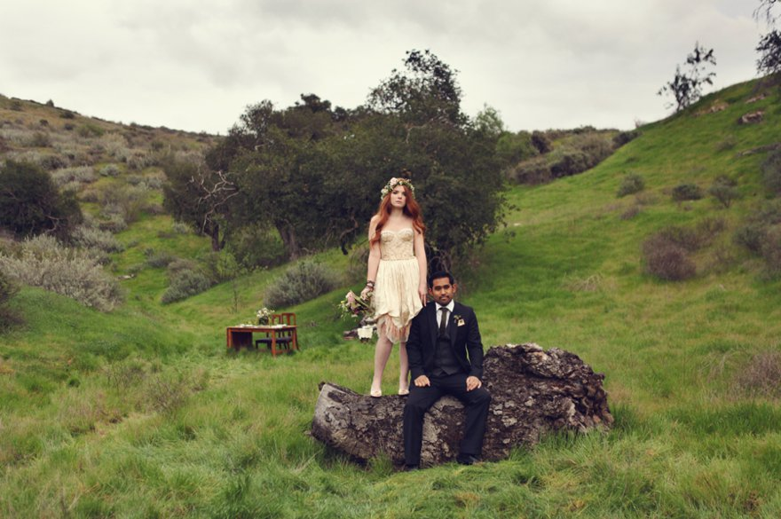 Irish St Patricks Day Styled Wedding Shoot 35