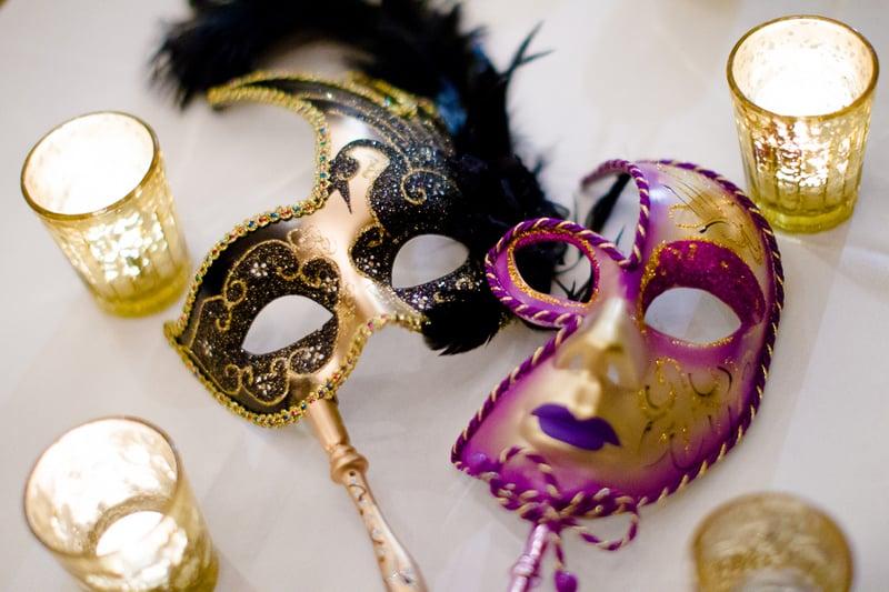 New Orleans Wedding, second line wedding parade, brooch bouquet, diy wedding invitations, masquerade_-107