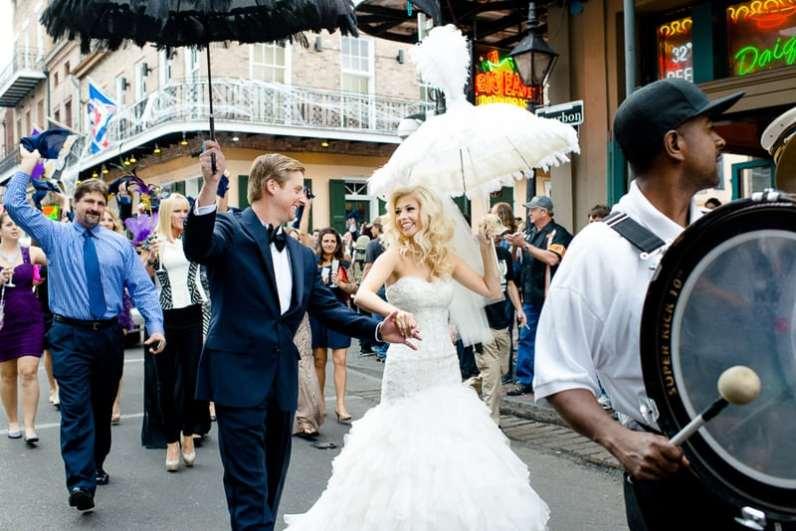 New Orleans Wedding, second line wedding parade, brooch bouquet, diy wedding invitations, masquerade_-54