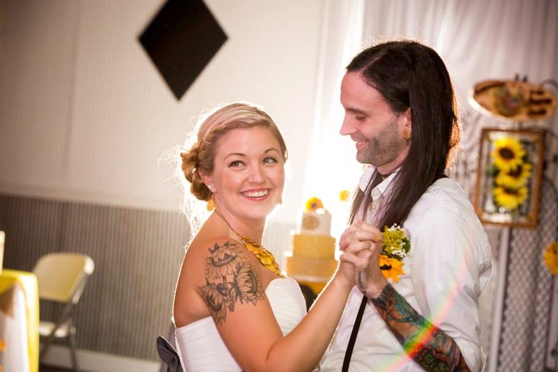 A DIY Rustic Sunflower Wedding (18)