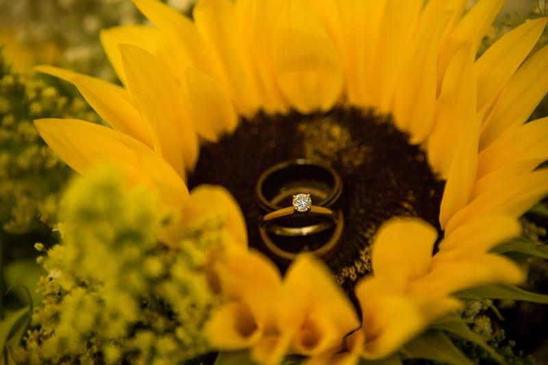 A DIY Rustic Sunflower Wedding (21)