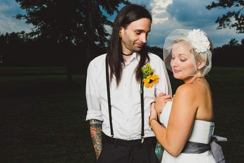 A DIY Rustic Sunflower Wedding (28)
