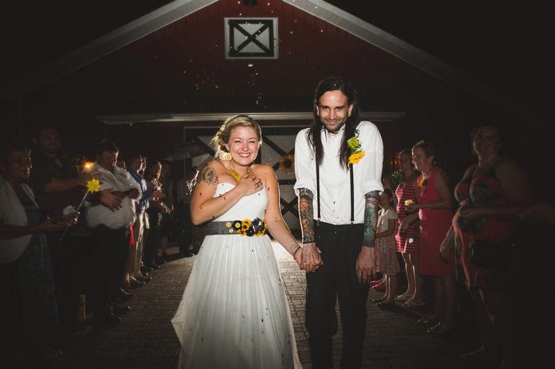 A DIY Rustic Sunflower Wedding (34)