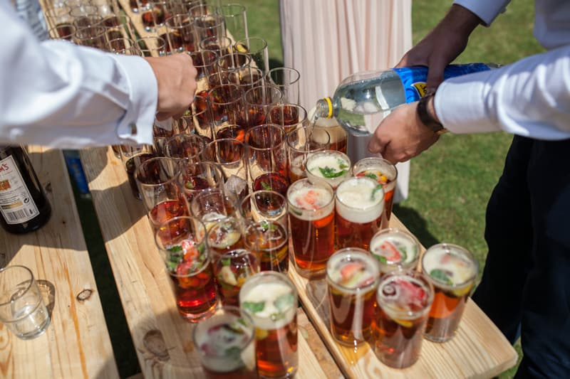 A Handmade & Laid-back Backyard Wedding in a Tipi (21)