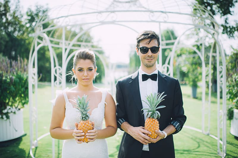 Pineapple Styled Summer Wedding Inspiration Bridal Fashion Unique Bride-14