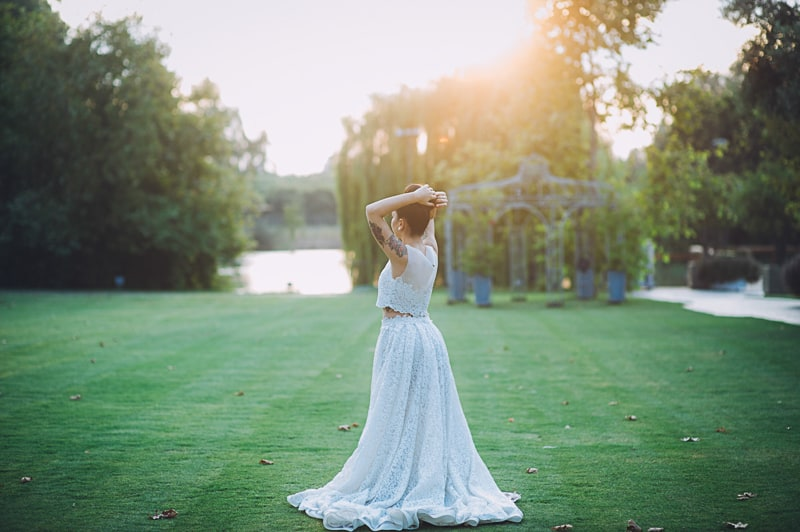 Pineapple Styled Summer Wedding Inspiration Bridal Fashion Unique Bride-37