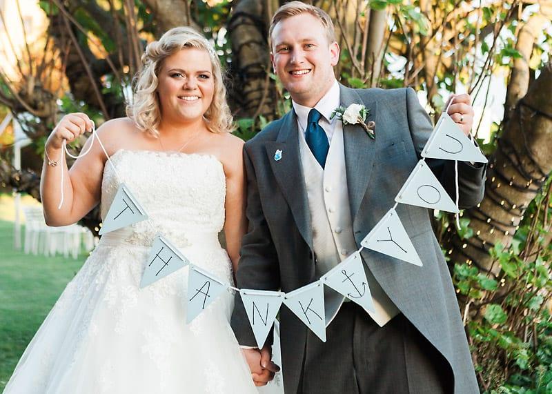 A Nautical themed DIY Wedding (33)