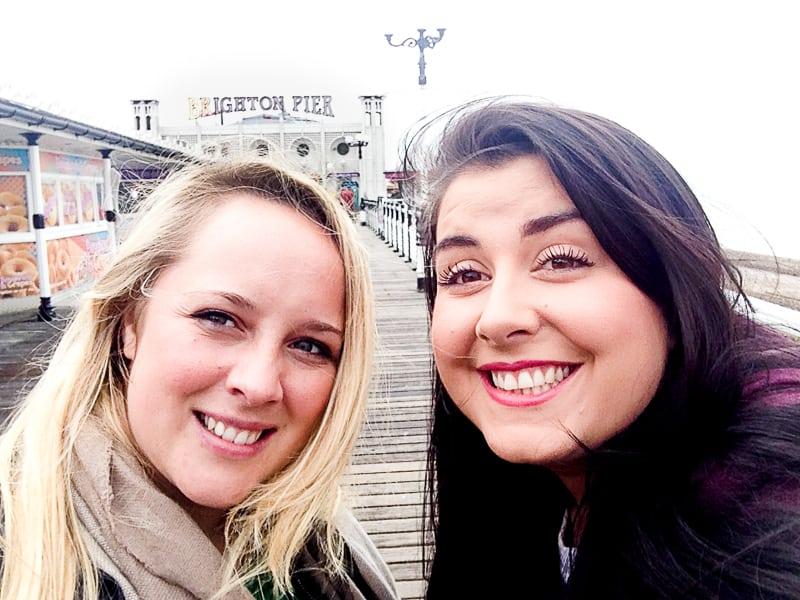 Brighton Pier Road Trip Bespoke Bride_