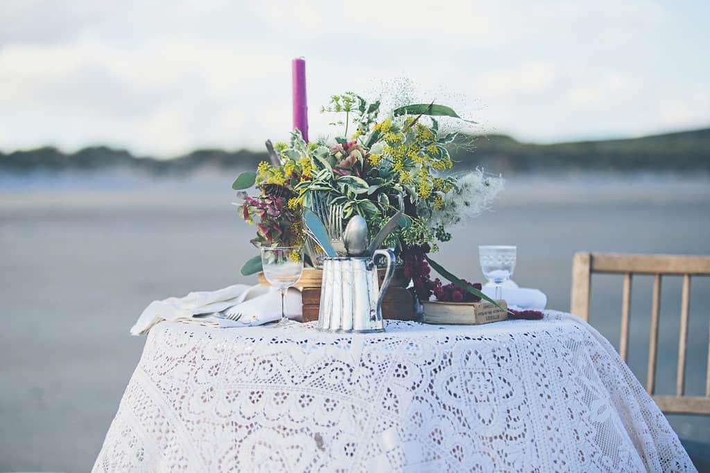 Bohemian Sequin Wedding Inspiration beach festival style 22