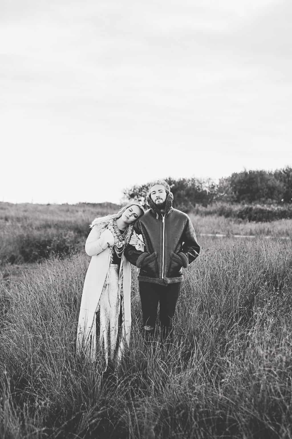 Bohemian Sequin Wedding Inspiration beach festival style 35