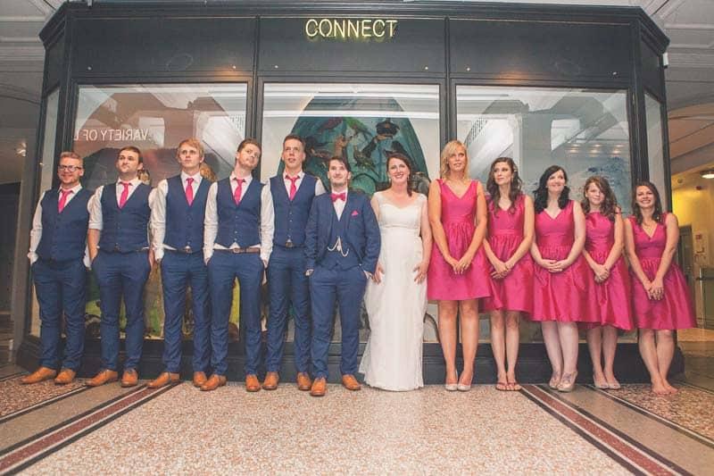 Glitter & Science Manchester Musuem Wedding (21)