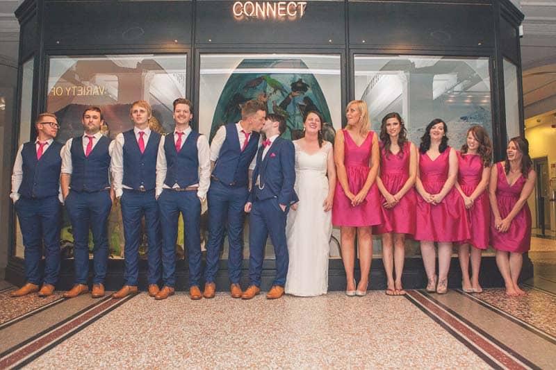 Glitter & Science Manchester Musuem Wedding (22)