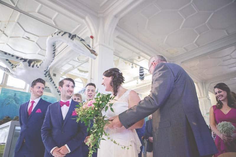 Glitter & Science Manchester Musuem Wedding (7)