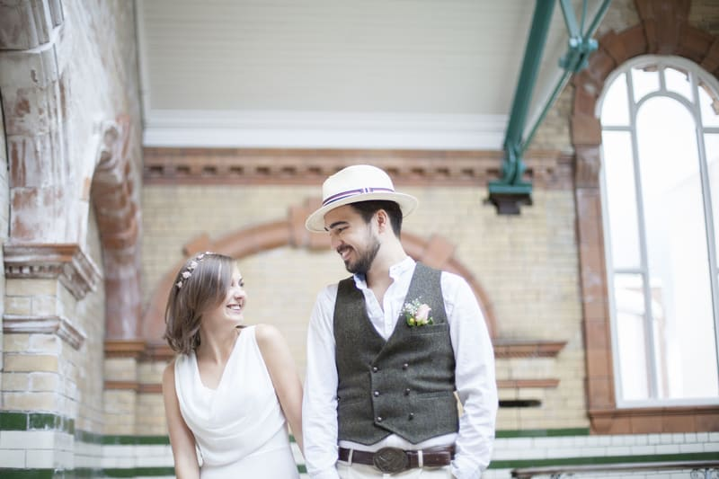 Quirky, Laid back styled wedding shoot at Victoria Baths Manchester (1)