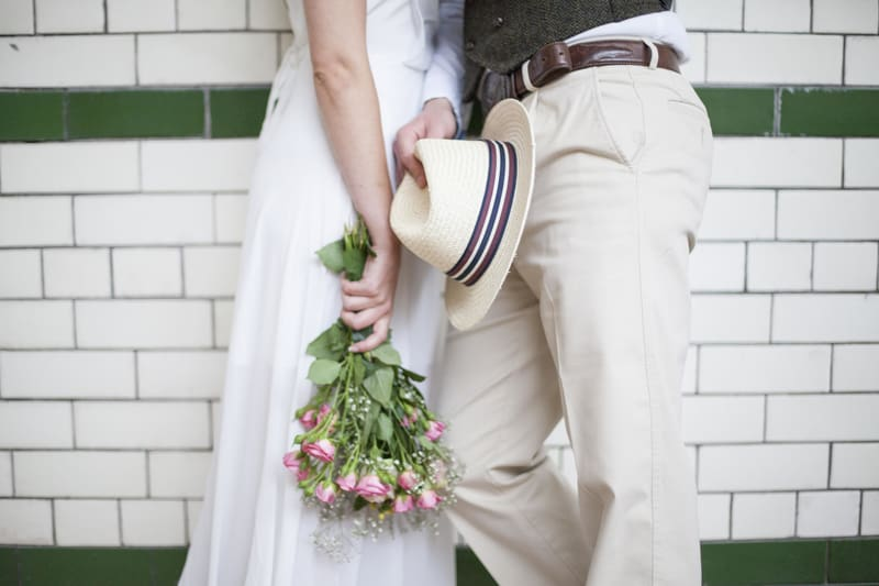 Quirky, Laid back styled wedding shoot at Victoria Baths Manchester (10)
