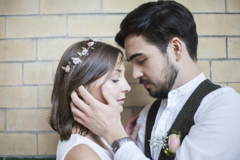 Quirky, Laid back styled wedding shoot at Victoria Baths Manchester (8)