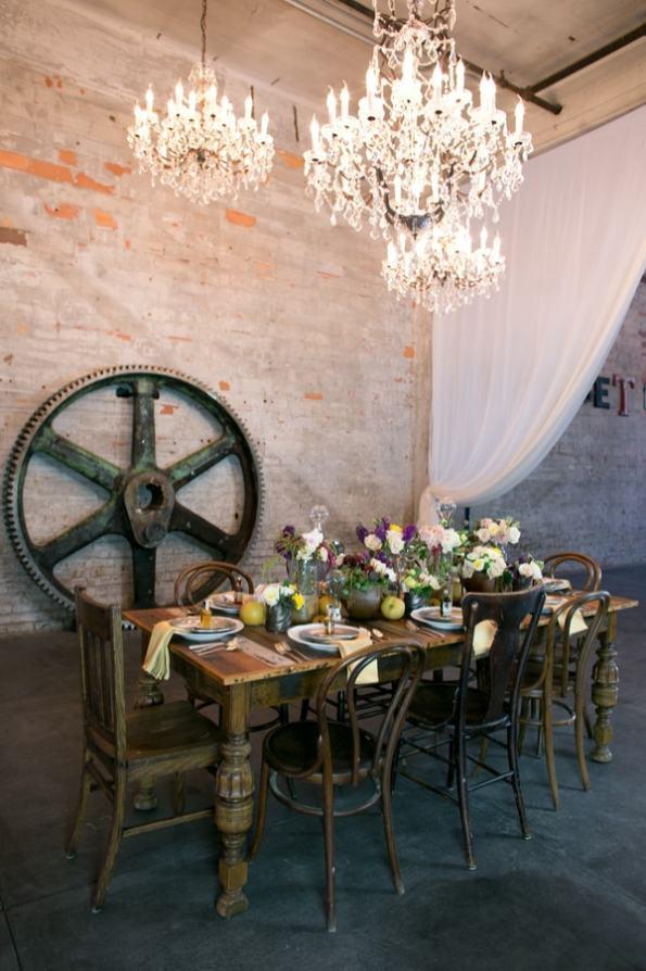 Steampunk Wedding Inspiration metals bride shoot 32