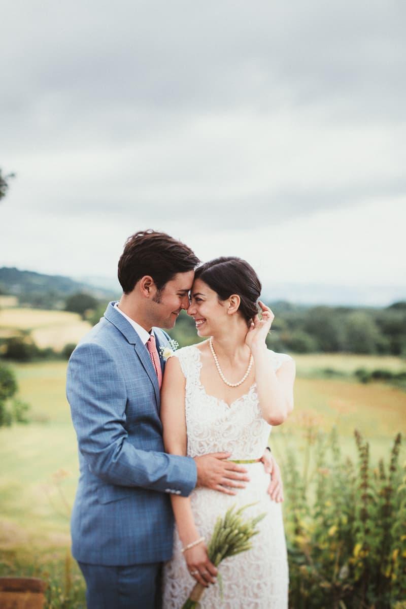 A Rustic Vegan Wedding