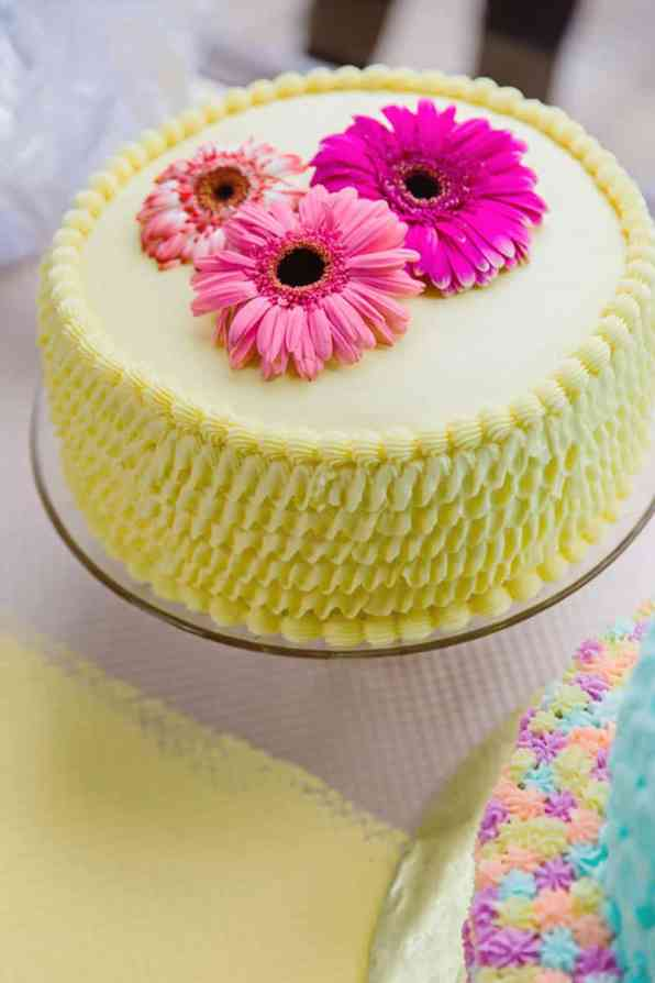 Close Knit Family & Friend DIY Wedding, Bride with Purple Petticoat (37)
