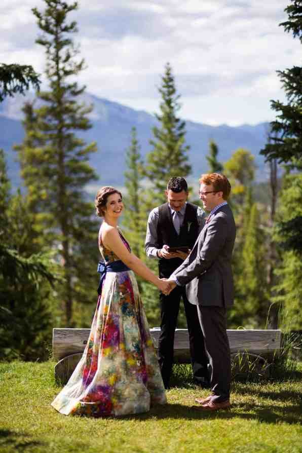 A COLOURFUL FLORAL GOWN FOR A WEDDING IN THE ROCKIES (17)