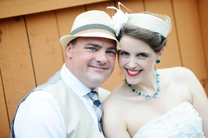 A Colourful Fun Vintage Italian Backyard Carnival Wedding (14)