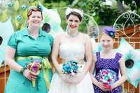 VINTAGE ITALIAN BACKYARD CARNIVAL WEDDING | Bespoke-Bride ...